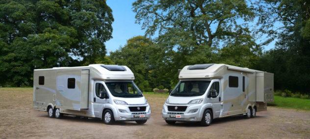 Camping-car européen PL 5T avec slides  -  109 900€ neuf