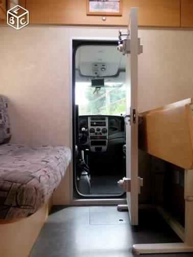 camion passage cabine